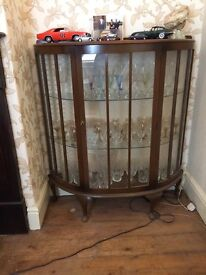 Large Glass Display Cabinet