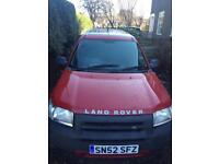 Land Rover Freelander estate RED (September 2002 ) petrol manual