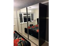 !!! AWESOME SALE !!!💎 ON BRAN NEW 2/3 SLIDING MIRRORED DOOR WARDROBES⚜️ONE YEAR OF WARRANTY💎