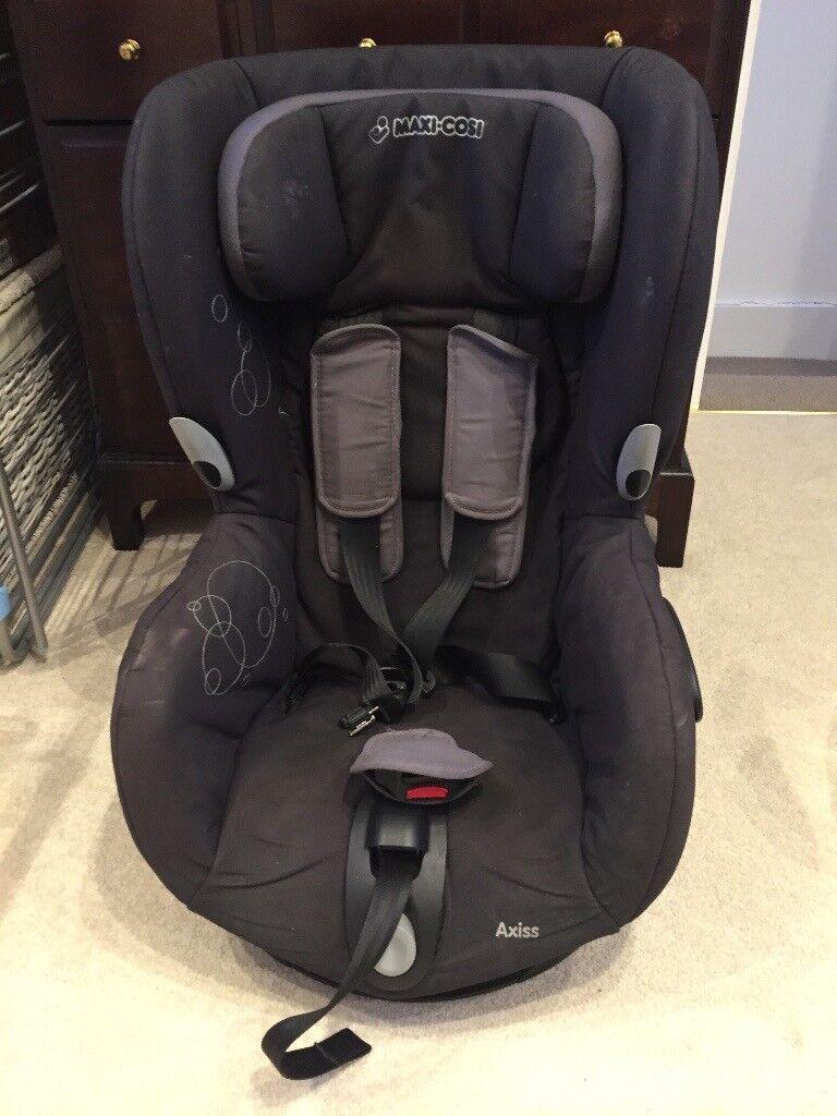 Maxi Cosi Axiss Car Seat - Black