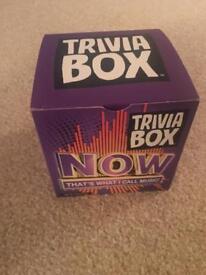 Now trivia box