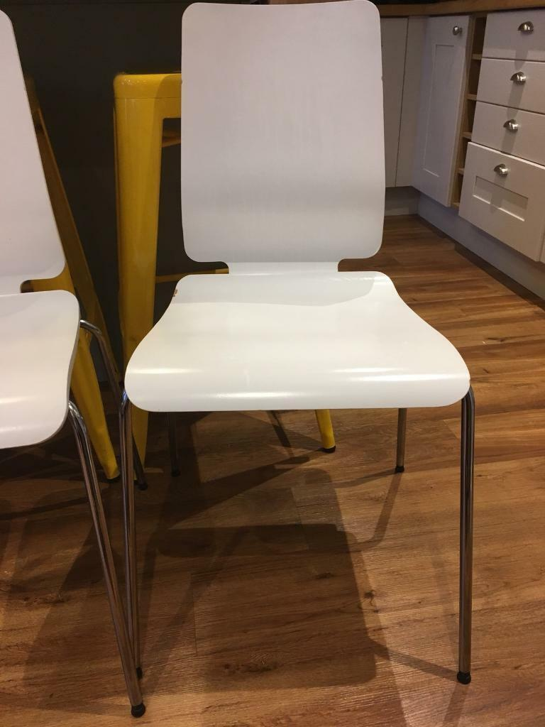 Ikea Cafe / Dining Chairs x 4