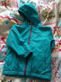 Higear blue coat size 5-6
