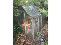Free Greenhouse 6ft x 8ft