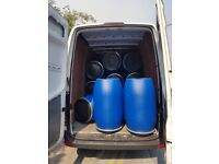Blue plastic Drum/Barrel for Shipping