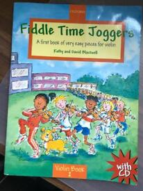 Fiddle time Runners/Joggers Violin Books for kids/ students.