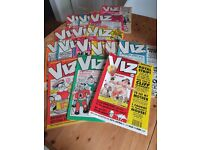 Viz Comics - 21 vintage issues from 1980s and 1990s - can sell individually