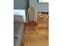 Ercol Vintage Windsor Quaker Chair 1960's