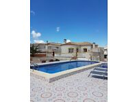 RENT VILLA WITH POOL IN ALICANTE SPAIN