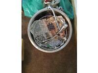 Franke sink basket and tap