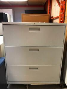AllSteel 3 Drawer Lateral Filing Cabinet - $250