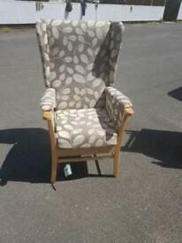 AJ Way Arran Riser winged armchair