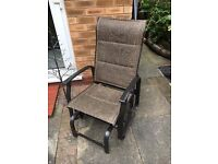 Garden rocking / glider chair