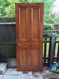 2 x internal solid wood Edwardian doors £60 each Ono