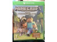 New and sealed! Minecraft Xbox one edition with favourites pack.