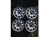 VW Golf MkI Tarantula Aloy Wheels