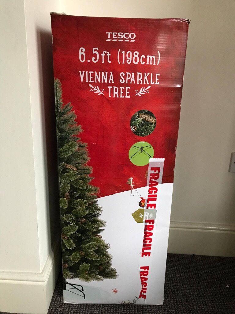 Vienna Sparkle Christmas Tree 6.5ft (198cm) | in Failsworth ...