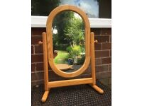 Mirror and apple hanger