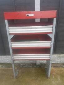 Garage metal shelfing