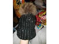 Sparkley hat