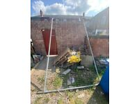 Heras Fence free to collect