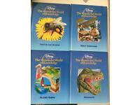 Disney's wonderful world of knowledge- 24 books @ 50p each!!!