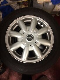 2004 mini one alloys
