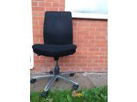 Black Office Chair (Brilliant condition)