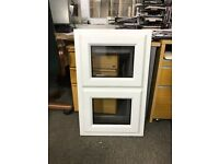 Brand New White PVCu Double Glazed Window 500mm x 830mm