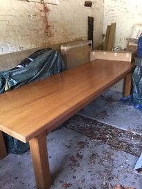 Dining Table - Antique French Oak (huge!)