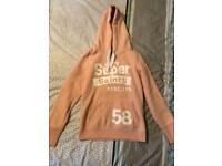 Ladies Superdry Hoody - Size S / 8-10. WORN ONCE