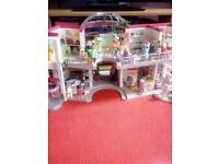 Playmobil Mall for sale!! (fully furnished)