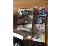 Nintendo wii games and wii fit board