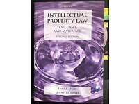 Intellectual Property Law Text, Cases and Materials Aplin Davis 2nd