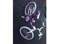 """Girls 20"""" bicycle"""