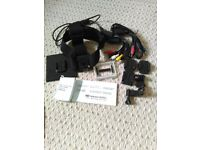 GoPro acessories unused - headstrap, cables, mounts etc