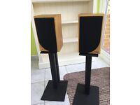 Cura CA5 speakers and stands