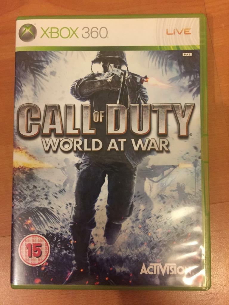 Call of Duty World at War XBox360 -£10