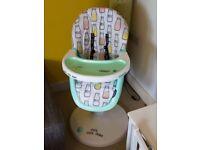 High chair Cosatto 3sixti milkshake child baby kids seat