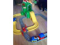 Little tikes road and rail set