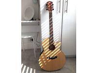 Excellent condition acoustic-electric guitar