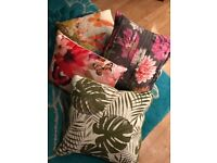 Beautiful selection of NEXT Floral Print Cushions