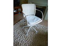 cream Ikea chair