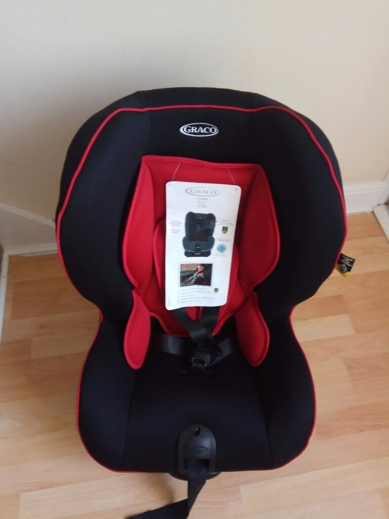 Brand new GRACO COAST CAR SEAT Chilli Red Group 1 Car Seat 9-18kg
