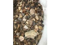 Mixed gravel bags