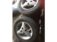 Toyota starlet alloy wheels