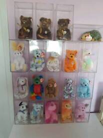 TY Beanie Babies Bundle in cases