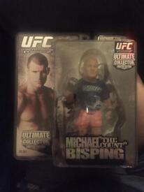 UFC MICHAEL BISPING FIGURINE - Round 5