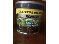 Shed Fence Paint (unopened)