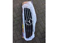 Mercedes Benz CLK grill